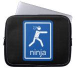 muestra del universal del ninja mangas portátiles