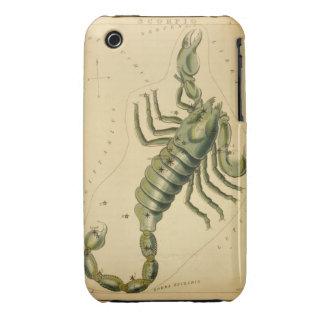 Muestra del vintage del escorpión (escorpión) de funda para iPhone 3 de Case-Mate