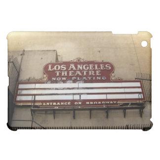 Muestra del vintage del teatro de Los Ángeles