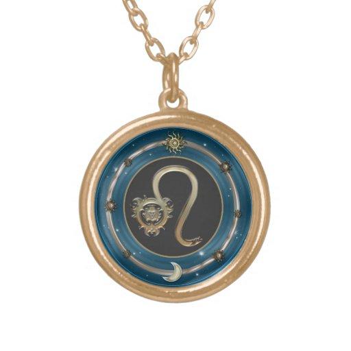 Muestra del zodiaco de Leo Joyerias