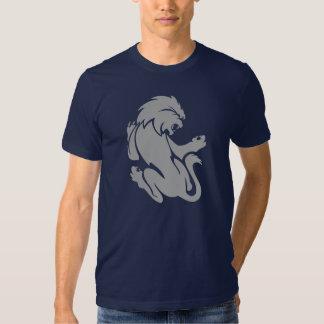 Muestra del zodiaco de Leo - león Playera
