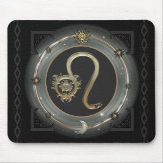 Muestra del zodiaco de Leo Mouse Pads
