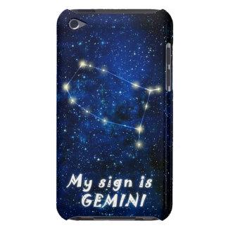 Muestra del zodiaco de los GÉMINIS - el tacto de i iPod Case-Mate Cobertura