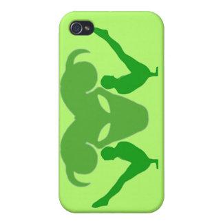 Muestra del zodiaco del aries - caso del iPhone de iPhone 4 Cárcasas
