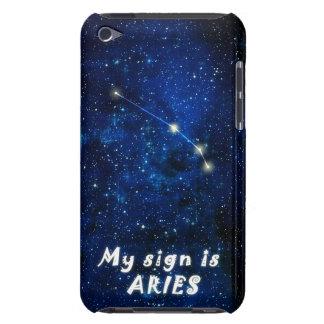 Muestra del zodiaco del ARIES - el tacto de iPod o iPod Case-Mate Cárcasas