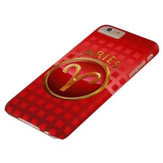 Muestra del zodiaco del aries funda barely there iPhone 6 plus