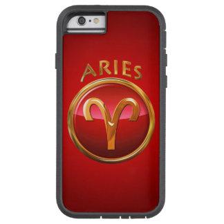 Muestra del zodiaco del aries funda tough xtreme iPhone 6