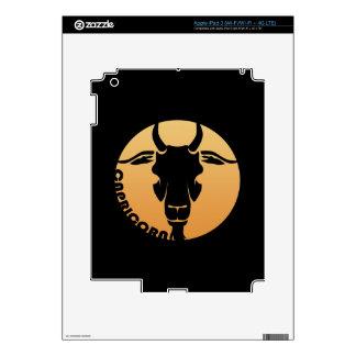 Muestra del zodiaco del Capricornio Pegatinas Skins Para iPad 3