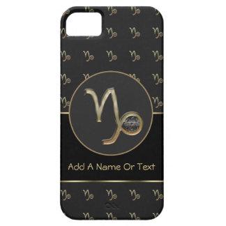 Muestra del zodiaco del Capricornio personalizada iPhone 5 Carcasas