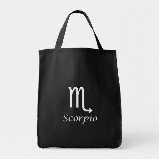 """Muestra del zodiaco del """"escorpión"""" bolsas"""