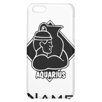 Muestra del zodiaco del horóscopo del acuario