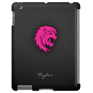 Muestra del zodiaco del león de Leo de las rosas f Funda Para iPad