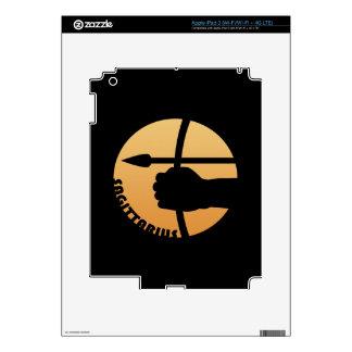 Muestra del zodiaco del sagitario iPad 3 pegatinas skins