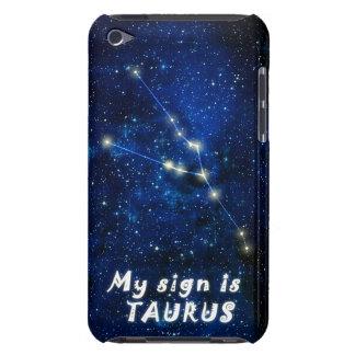 Muestra del zodiaco del TAURO - el tacto de iPod o iPod Touch Case-Mate Carcasas
