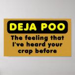 Muestra divertida del poster de Deja Poo
