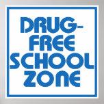 Muestra Droga-Libre de la zona de la escuela Impresiones