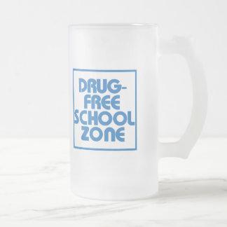 Muestra Droga-Libre de la zona de la escuela Tazas