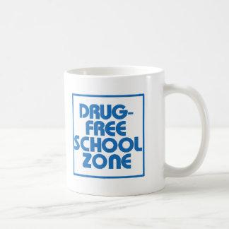 Muestra Droga-Libre de la zona de la escuela Taza