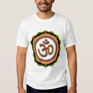 Muestra espiritual de OM Lotus Camisas