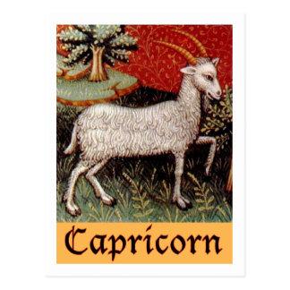 Muestra exótica del zodiaco del Capricornio Postal