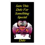 Muestra feliz del el día de San Valentín de 3 de Tarjetas De Visita
