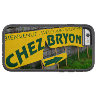 muestra francesa retra del restaurante funda para  iPhone 6 tough xtreme