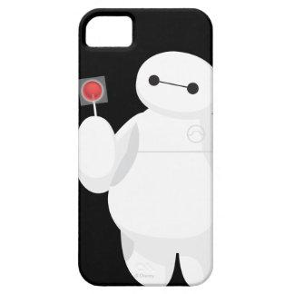 Muestra grande del Lollipop del héroe 6 iPhone 5 Case-Mate Cobertura