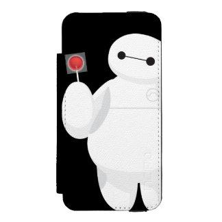 Muestra grande del Lollipop del héroe 6 Funda Billetera Para iPhone 5 Watson