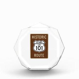 Muestra histórica de la ruta 101 de los E E U U d