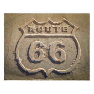 Muestra histórica de la ruta 66, Arizona Cuadro