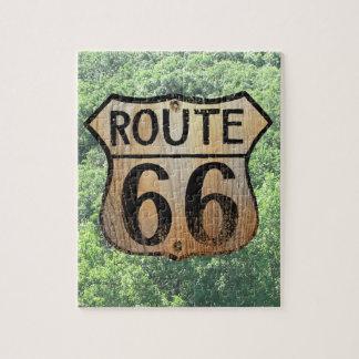 Muestra histórica de la ruta 66 - rompecabezas