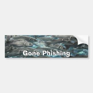 Muestra ida de Phishing Pegatina De Parachoque