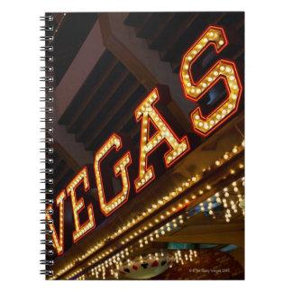Muestra iluminada de Vegas Libro De Apuntes