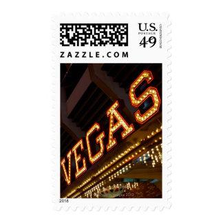 Muestra iluminada de Vegas Franqueo
