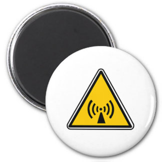 Muestra inionizante de la radiación imán redondo 5 cm