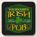Muestra irlandesa personalizada del Pub Posavaso