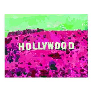 Muestra Los Ángeles California de Hollywood Tarjetas Postales