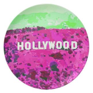 Muestra Los Ángeles de Hollywood Plato De Cena