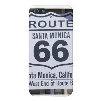 Muestra oficial Santa Mónica del extremo de la rut iPhone 5 Cárcasa