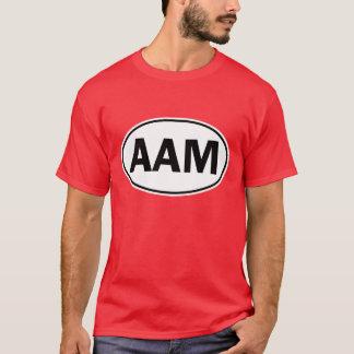 Muestra oval de la identidad del AAM Playera
