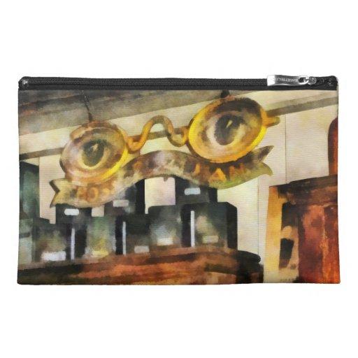 Muestra para la tienda de las gafas