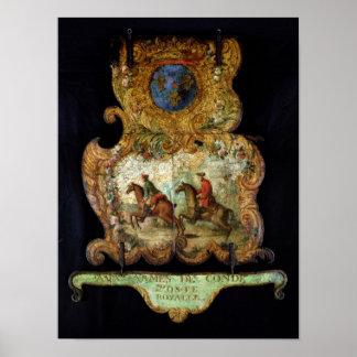 Muestra para Royal Mail de Chantilly Póster