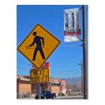 Muestra peatonal del aro de Hula, Albuquerque New  Tarjeta Postal