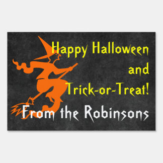 Muestra personalizada de la yarda de Halloween del Carteles