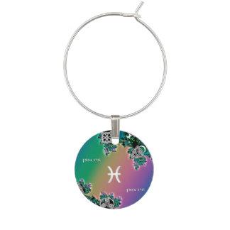 Muestra Piscis del zodiaco del fractal del arco Identificador De Copa