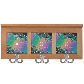 Muestra Piscis del zodiaco del fractal del arco