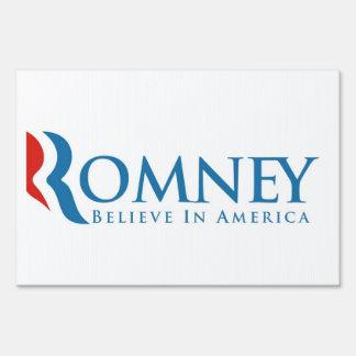 muestra política de las elecciones del romney