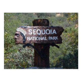 """Muestra """"principal"""" india del parque nacional de tarjetas postales"""