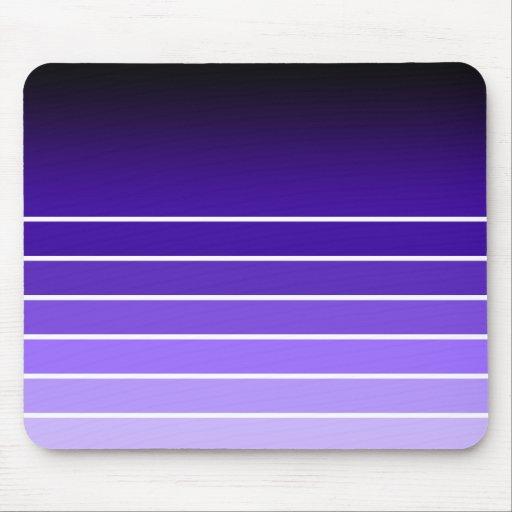 muestra púrpura alfombrilla de ratón