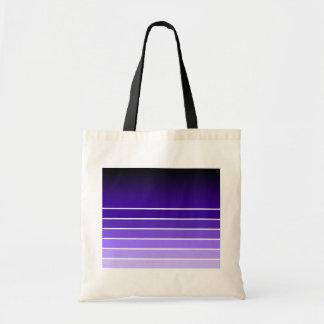 muestra púrpura bolsa